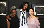 Antoinette Nwandu,  Jeremy O. Harris and Danya Taymor attends the Vineyard Theatre Paula Vogel Playwriting Award honoring Jeremy O. Harris on October 12, 2018 at the National Arts Club in New York City.