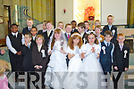 Pupils of Holy Family National School who received their First Holy Communion at St John's Church, Tralee on Saturday were Sophie Hennessy, Tony Monaghan, Patricia Oprisan, Jordan O' Driscoll, Emily-Rose Fitzgerald, Paul Browne, Jonathan Carey, Cormac Lynch, Gavin Slattery, Robert Kerins, Denis Onwybuya, Kuba Wasielewski, Antonio Janosovsky, Brandon Ndebele, Jordan Kissane, Eoin McDonnell, Callum Tansley-Fitzgerald, Matthew Browne, Conor Commane, Niall Fitzgerald. (missing was Whitney Osayanrhion).