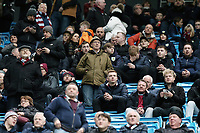 Burnley fans soak up the atmosphere ahead of kick-off<br /> <br /> Photographer Rich Linley/CameraSport<br /> <br /> Emirates FA Cup Fourth Round - Manchester City v Burnley - Saturday 26th January 2019 - The Etihad - Manchester<br />  <br /> World Copyright © 2019 CameraSport. All rights reserved. 43 Linden Ave. Countesthorpe. Leicester. England. LE8 5PG - Tel: +44 (0) 116 277 4147 - admin@camerasport.com - www.camerasport.com