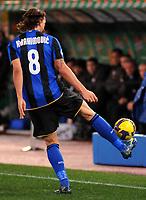 """Zlatan Ibrahimovic Inter<br /> Roma 6/12/2008 Stadio """"Olimpico"""" <br /> Campionato Italiano Serie A 2008/2009 <br /> Lazio Inter (0-3)<br /> Foto Massimo OlivaInsidefoto"""