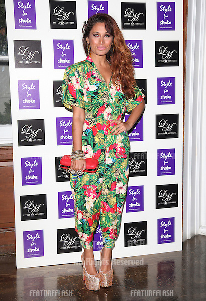 Preeya Kalidis arriving for the Style for Stroke Party, 5 Cavendish Square, London. 02/10/2012 Picture by: Alexandra Glen / Featureflash
