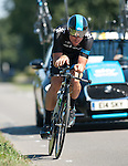 SITTARD, NETHERLANDS - AUGUST 16: Bernhard Eisel of Austria riding for Sky Procycling competes during stage 5 of the Eneco Tour 2013, a 13km individual time trial from Sittard to Geleen, on August 16, 2013 in Sittard, Netherlands. (Photo by Dirk Markgraf/www.265-images.com)