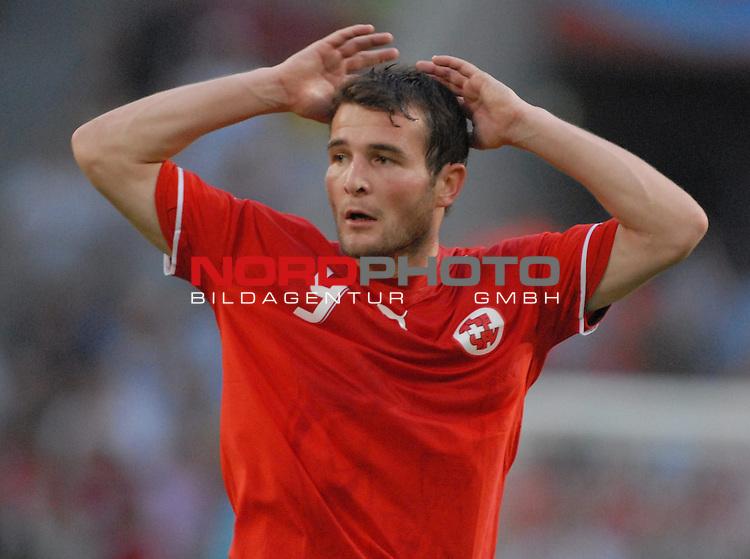 FIFA WM 2006 -  Round of Sixteen - / Viertelfinale <br /> Play    #54  (26. Juni ) Schweiz - Ukraine<br /> <br /> Alexander Frei (SUI)<br /> <br /> Foto &copy; nordphoto