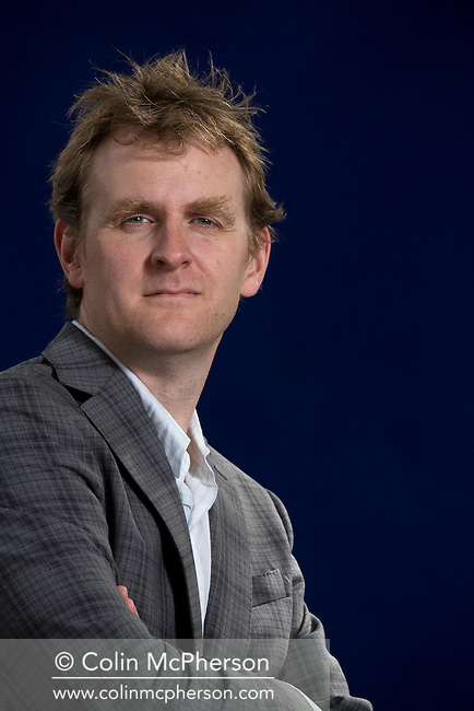 British fiction writer Nick Harkaway, pictured at the Edinburgh International Book Festival where he talked about his latest work entitled 'Angelmaker'. The three-week event is the world's biggest literary festival and is held during the annual Edinburgh Festival. The 2012 event featured talks and presentations by more than 500 authors from around the world.