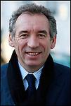 François Bayrou / Président du Mouvement Démocrate MODEM à Pau / 64 Pyrénées Atlantiques / Rég. Aquitaine / François Bayrou former president of the MODEM french party / France