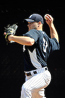 Feb 23, 2010; Tampa, FL, USA; New York Yankees  pitcher Kevin Whelan (81) during  team workout at George M. Steinbrenner Field. Mandatory Credit: Tomasso De Rosa