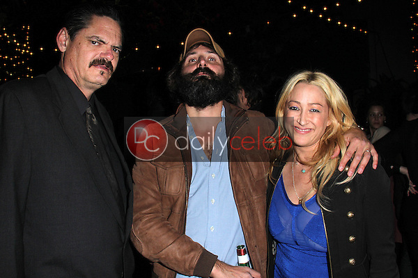 """Mark Burnham, Quentin Dupieux a.k.a. Mr. Oizo, Jennifer Blanc<br /> at the """"Wrong Cops"""" Opening Week Screening, Cinefamily Silent Movie Theater, Los Angeles, CA 12-27-13<br /> David Edwards/DailyCeleb.Com 818-249-4998"""