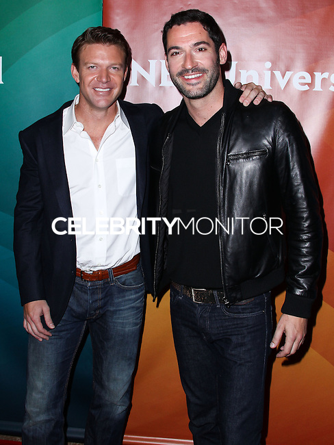 BEVERLY HILLS, CA, USA - JULY 13: Matt Passmore, Tom Ellis at the NBCUniversal Summer TCA Tour 2014 - Day 1 held at the Beverly Hilton Hotel on July 13, 2014 in Beverly Hills, California, United States. (Photo by Xavier Collin/Celebrity Monitor)