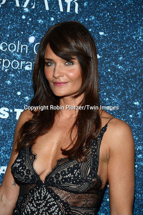 Helena Christensen attends the Stella McCartney Honored by Lincoln Center at Gala on November 13, 2014 at Alice Tully Hall in New York City, USA. She was given the Women's Leadership Award which was presented bythe LIncoln Center for the Performing Arts' Corporate Fund.<br /> <br /> photo by Robin Platzer/Twin Images<br />  <br /> phone number 212-935-0770