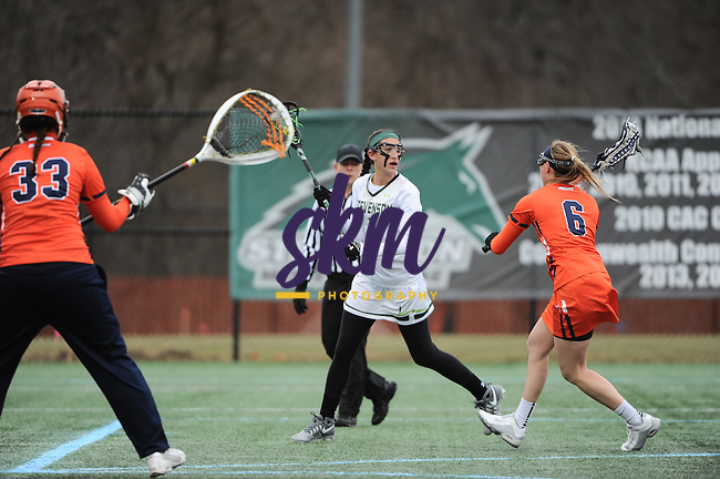 Stevenson women's lacrosse couldn't maintain their early game momentum as they drop 10-17 to Gettysburg at Mustang Stadium in Owings Mills on Thursday evening.