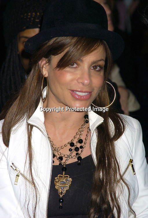 Paula Abdul ..at The Baby Phat Fall 2005 Fashion Show on February 5, 2005 at Skylight. Photo By Robin Platzer, Twin Images