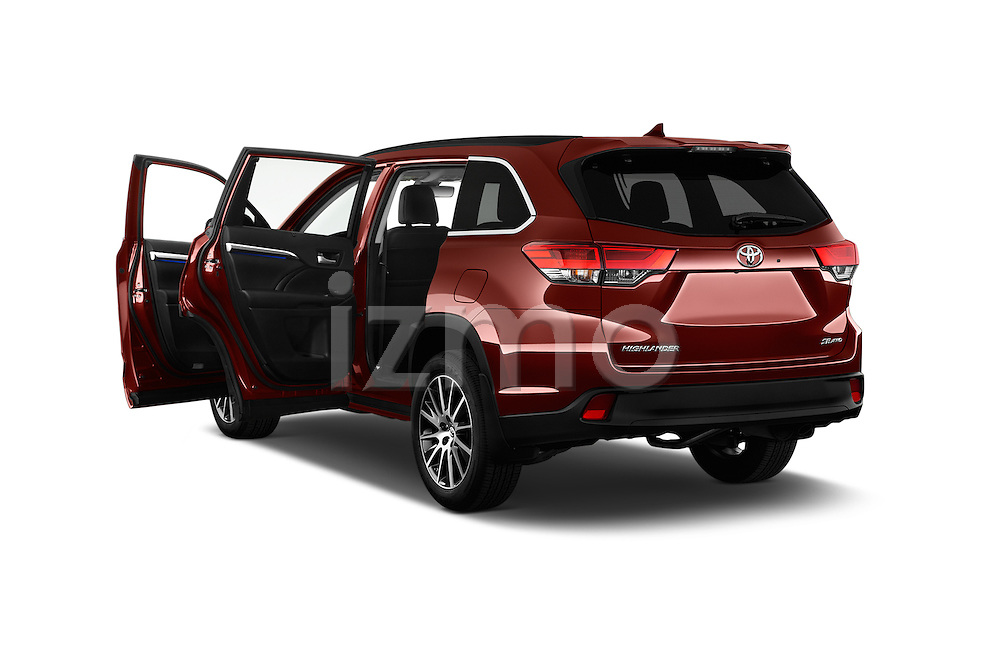 Car images of 2018 Toyota Highlander SE 5 Door SUV Doors