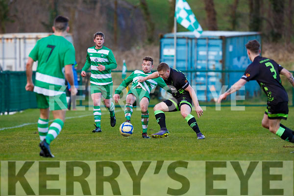 Killarney Celtic vNorth End during their FAI cup clash in Killarney on Sunday.