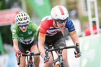 Picture by Allan McKenzie/SWpix.com - 15/05/2018 - Cycling - OVO Energy Tour Series Womens Race - Round 2:Motherwell - Beth Crumpton.