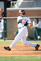 Cody Grisham #23 of the Tennessee Volunteers at Lindsey Nelson Stadium in game against LSU Tigers in Knoxville, TN March 27, 2010 (Photo by Tony Farlow/Four Seam Images)