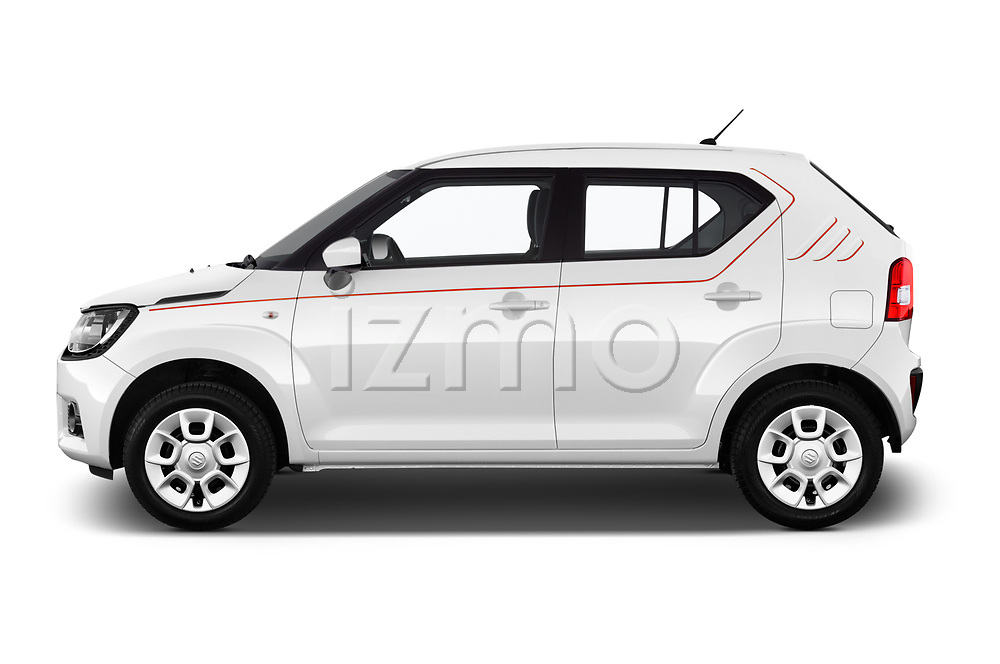 Car Driver side profile view of a 2017 Suzuki Ignis GL 5 Door Hatchback Side View