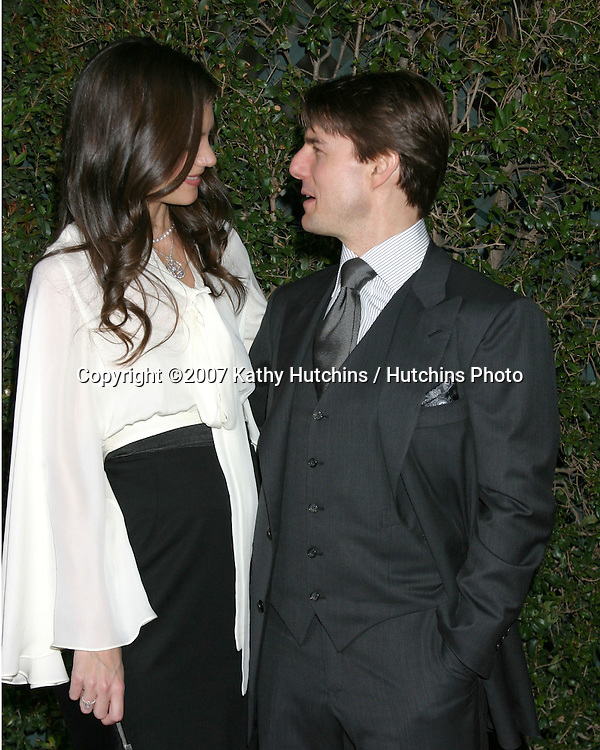 Tom Cruise & Katie Holmes.Mentor LA's Promise Gala IHO Tom Cruise.20th Century Fox Lot.Century City, CA.March 22, 2007.©2007 Kathy Hutchins / Hutchins Photo...