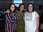 Paula Smith Campbell celebrating her 50th birthday in Brú with daughters Naomi and Lyndsey. Photo:Colin Bell/pressphotos.ie