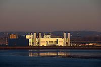 Deutschland, Hamburg, Airbusbebauung im Mühlenberger Loch