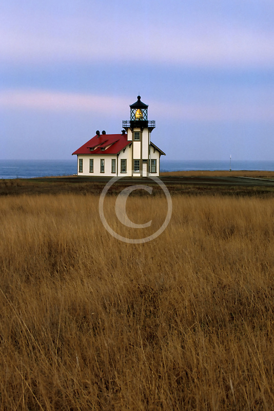California, Mendocino County, Point Cabrillo Lighthouse