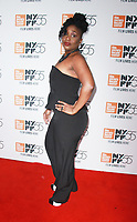 NEW YORK, NY October 12, 2017Tamar-Kali  attend 55th NYFF present  premiere of Mudbound  at Alice Tully Hall in New York October 12,  2017. Credit:RW/MediaPunch