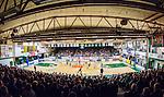 S&ouml;dert&auml;lje 2015-04-10 Basket SM-Semifinal 5 S&ouml;dert&auml;lje Kings - Sundsvall Dragons :  <br /> Vy &ouml;ver T&auml;ljehallen med publik p&aring; l&auml;ktarna under matchen mellan S&ouml;dert&auml;lje Kings och Sundsvall Dragons <br /> (Foto: Kenta J&ouml;nsson) Nyckelord:  S&ouml;dert&auml;lje Kings SBBK T&auml;ljehallen Sundsvall Dragons inomhus interi&ouml;r interior supporter fans publik supporters