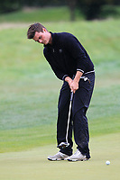 Kristian Krogh Johannessen (NOR) on the 8th green during Round 2 of the Bridgestone Challenge 2017 at the Luton Hoo Hotel Golf &amp; Spa, Luton, Bedfordshire, England. 08/09/2017<br /> Picture: Golffile | Thos Caffrey<br /> <br /> <br /> All photo usage must carry mandatory copyright credit     (&copy; Golffile | Thos Caffrey)