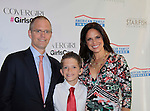 Soledad O'Brien & husband Brad Raymond & son Jackson at Soledad O'Brien and Brad Raymond Starfish Foundation presents New Orleans to New York City 2014 Gala on July 24, 2014 at Espace, New York City for VIP Cocktail Reception, dinner, entertainment with Grammy Award winning Trumpeteer Irvin Mayfield (also Board president) and the New Orleans Jazz Orchestra. (Photo by Sue Coflin/Max Photos)