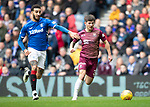 Rangers v St Johnstone&hellip;16.02.19&hellip;   Ibrox    SPFL<br />Matty Kennedy goes past Connor Goldson<br />Picture by Graeme Hart. <br />Copyright Perthshire Picture Agency<br />Tel: 01738 623350  Mobile: 07990 594431