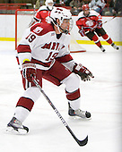 Alex Killorn (Harvard - 19) - The St. Lawrence University Saints defeated the Harvard University Crimson 3-2 on Friday, November 20, 2009, at the Bright Hockey Center in Cambridge, Massachusetts.