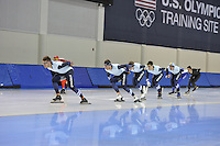 SPEED SKATING: SALT LAKE CITY: 18-11-2015, Utah Olympic Oval, ISU World Cup, training, Team Stressless, ©foto Martin de Jong