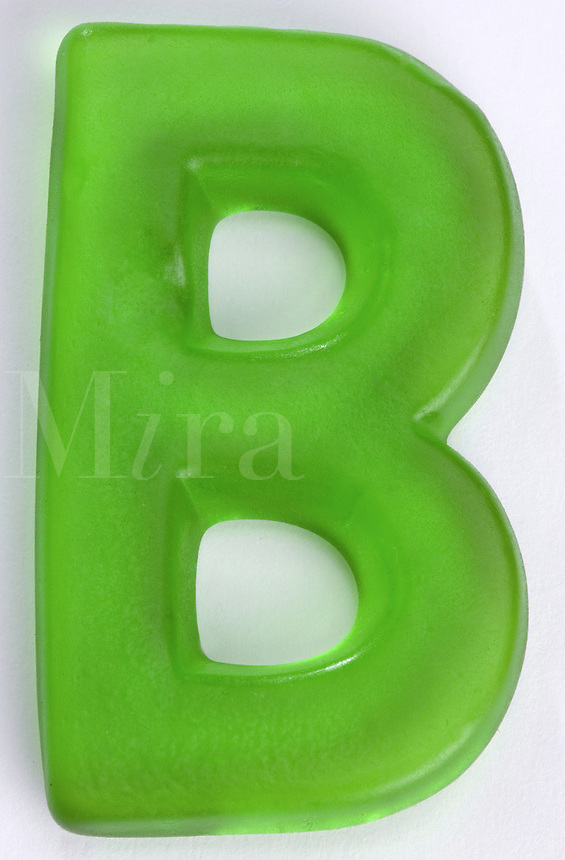 Green Gummi Letter