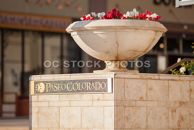 Paseo Colorado Street in Downtown Pasadena California