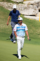 Ross Fisher (ENG), Hideto TANIHARA (JAP) on the 11th during the 5th round at the WGC Dell Technologies Matchplay championship, Austin Country Club, Austin, Texas, USA. 25/03/2017.<br /> Picture: Golffile | Fran Caffrey<br /> <br /> <br /> All photo usage must carry mandatory copyright credit (&copy; Golffile | Fran Caffrey)