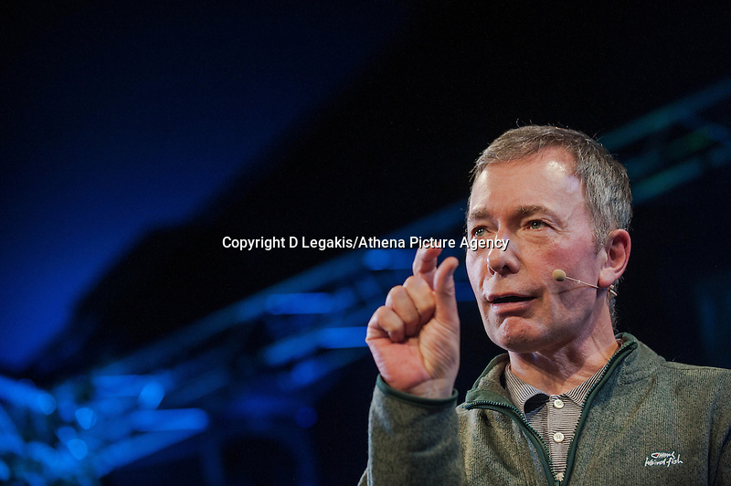 Tuesday 27 May 2014, Hay on Wye, UK<br /> Pictured: Tony Parsons at the Hay Festival <br /> Re: The Hay Festival, Hay on Wye, Powys, Wales UK.