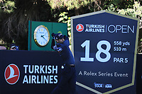 Aaron Rai (ENG) during the first round of the Turkish Airlines Open, Montgomerie Maxx Royal Golf Club, Belek, Turkey. 07/11/2019<br /> Picture: Golffile | Phil INGLIS<br /> <br /> <br /> All photo usage must carry mandatory copyright credit (© Golffile | Phil INGLIS)