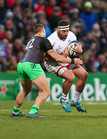 Saturday 7th December 2019 | Ulster Rugby vs Harlequins<br /> <br /> Rob Herring during the Heineken Champions Cup Round 3 clash in Pool 3, between Ulster Rugby and Harlequins at Kingspan Stadium, Ravenhill Park, Belfast, Northern Ireland. Photo by John Dickson / DICKSONDIGITAL