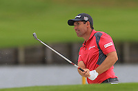 Padraig Harrington (IRL) on the 18th green during Round 2 of the 100th Open de France, played at Le Golf National, Guyancourt, Paris, France. 01/07/2016. <br /> Picture: Thos Caffrey | Golffile<br /> <br /> All photos usage must carry mandatory copyright credit   (&copy; Golffile | Thos Caffrey)