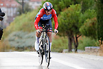 Lisa Brennauer (GER) WNT Rotor Pro Cycling Team in action during Stage 1 of the Ceratizit Madrid Challenge by La Vuelta 2019 running 9.3km individual time trial around Boadilla del Monte, Spain. 14th September 2019.<br /> Picture: Luis Angel Gomez/Photogomezsport | Cyclefile<br /> <br /> All photos usage must carry mandatory copyright credit (© Cyclefile | Luis Angel Gomez/Photogomezsport)