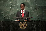 Zambia<br /> H.E. Mr. Edgar Chagwa Lungu<br /> President<br /> <br /> General Assembly Seventy-first session: Opening of the General Debate 71 United Nations, New York
