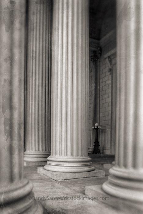 Columns National Archives Washington DC Architecture