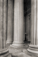 Columns National Archives Washington DC Architecture
