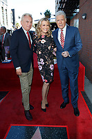 LOS ANGELES - NOV 24:  Pat Sajak, Vanna White, Alex Trebek at the Harry Friedman Star Ceremony on the Hollywood Walk of Fame on November 24, 2019 in Los Angeles, CA