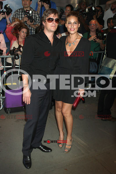 June 27, 2012  Rob Thomas and Marisol Thomas at the special screening of Universal Pictures' Savages at the SVA Theater in New York City. &copy; RW/MediaPunch Inc *NORTEPHOTO*COM*<br /> **SOLO*VENTA*EN*MEXICO**<br /> **CREDITO*OBLIGATORIO** <br /> *No*Venta*A*Terceros*<br /> *No*Sale*So*third*<br /> *** No Se Permite Hacer Archivo**