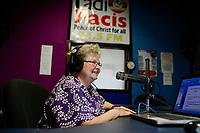 UGANDA, Arua, Radio Pacis, Sherry Meyer