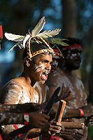 Yarrabah Dancers 3,  Laura Aboriginal Dance Festival, Laura, Cape York Peninsula, Queensland, Australia.