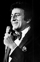 Crooner Tony Bennett, another Imperial Room regular<br /> <br /> <br /> Griffin, Doug<br /> Picture, 1981