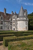 Europe/France/Aquitaine/24/Dordogne/ Villars: Château de Puyguilhem, style renaissance