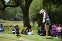 Jeongeun6 Lee (KOR) chips on to 4 during round 4 of the 2019 US Women's Open, Charleston Country Club, Charleston, South Carolina,  USA. 6/2/2019.<br /> Picture: Golffile | Ken Murray<br /> <br /> All photo usage must carry mandatory copyright credit (© Golffile | Ken Murray)