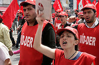 1 May Workers' Party demonstration in Kadikoy, Istanbul, Turkey